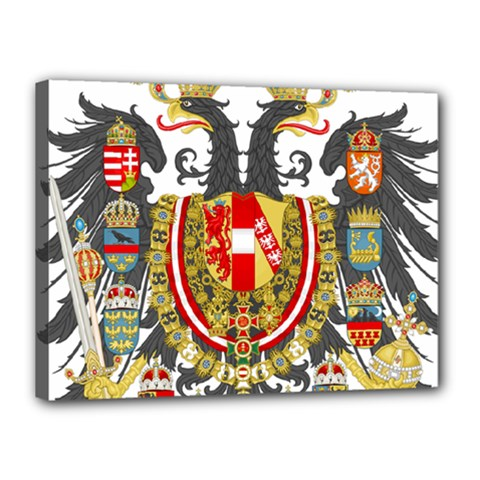 Imperial Coat Of Arms Of Austria Hungary  Canvas 16  X 12
