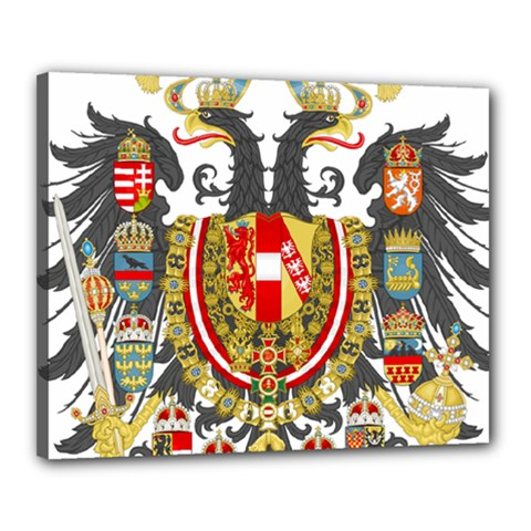 Imperial Coat Of Arms Of Austria Hungary  Canvas 20  X 16