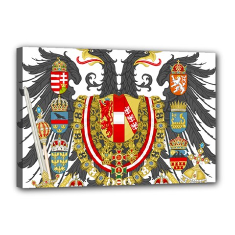 Imperial Coat Of Arms Of Austria Hungary  Canvas 18  X 12