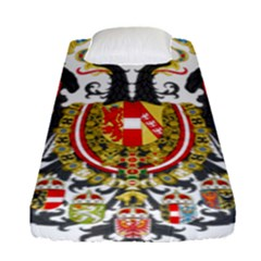 Imperial Coat Of Arms Of Austria Hungary  Fitted Sheet (single Size)