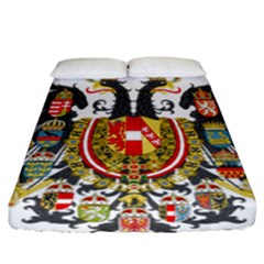 Imperial Coat Of Arms Of Austria Hungary  Fitted Sheet (california King Size)