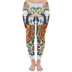 Imperial Coat Of Arms Of Austria Hungary  Classic Winter Leggings