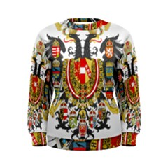 Imperial Coat Of Arms Of Austria Hungary  Women s Sweatshirt
