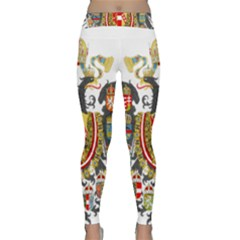 Imperial Coat Of Arms Of Austria Hungary  Classic Yoga Leggings