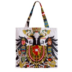 Imperial Coat Of Arms Of Austria Hungary  Zipper Grocery Tote Bag