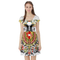 Imperial Coat Of Arms Of Austria Hungary  Short Sleeve Skater Dress