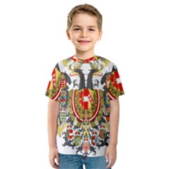 Imperial Coat Of Arms Of Austria Hungary  Kids  Sport Mesh Tee