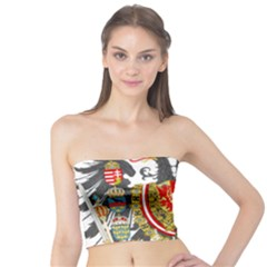 Imperial Coat Of Arms Of Austria Hungary  Tube Top