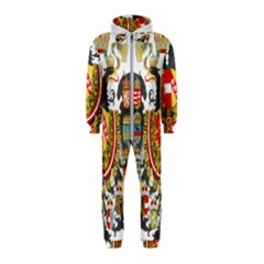 Imperial Coat Of Arms Of Austria Hungary  Hooded Jumpsuit (kids)