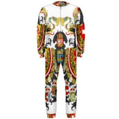 Imperial Coat Of Arms Of Austria Hungary  Onepiece Jumpsuit (men)