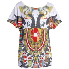 Imperial Coat Of Arms Of Austria Hungary  Women s Oversized Tee