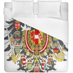 Imperial Coat Of Arms Of Austria Hungary  Duvet Cover (king Size)