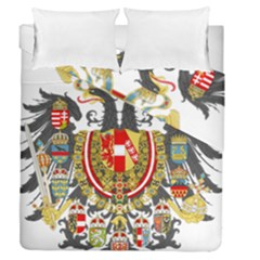Imperial Coat Of Arms Of Austria Hungary  Duvet Cover Double Side (queen Size)
