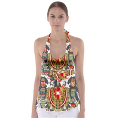 Imperial Coat Of Arms Of Austria Hungary  Babydoll Tankini Top