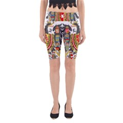 Imperial Coat Of Arms Of Austria Hungary  Yoga Cropped Leggings