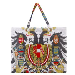Imperial Coat Of Arms Of Austria Hungary  Zipper Large Tote Bag