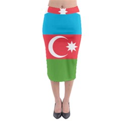 Roundel Of Azerbaijan Air Force Midi Pencil Skirt by abbeyz71
