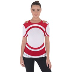 Roundel Of Bahrain Air Force Short Sleeve Top