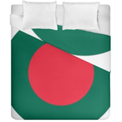 Roundel Of Bangladesh Air Force Duvet Cover Double Side (california King Size) by abbeyz71