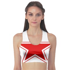 Roundel Of Belarusian Air Force Sports Bra by abbeyz71