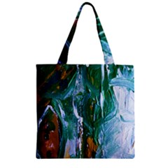 Close To Pinky,s House 6 Zipper Grocery Tote Bag by bestdesignintheworld