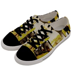Alligator 3 Men s Low Top Canvas Sneakers by bestdesignintheworld