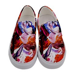 Cabin In The Mountain 2 Women s Canvas Slip Ons
