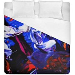 Cabin In The Mountain 1 Duvet Cover (king Size) by bestdesignintheworld