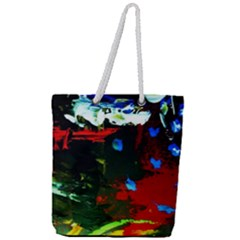 Balboa   Island On A Sand 12 Full Print Rope Handle Tote (large) by bestdesignintheworld