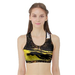 Highland Park 17 Sports Bra With Border
