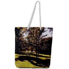 Highland Park 17 Full Print Rope Handle Tote (large)