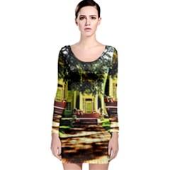 Highland Park 15 Long Sleeve Bodycon Dress