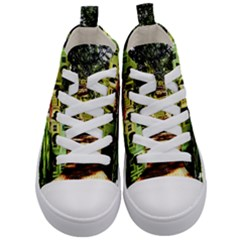 Highland Park 15 Kid s Mid Top Canvas Sneakers