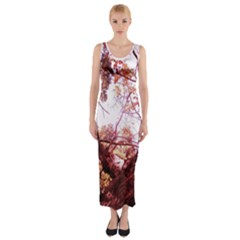 Highland Park 12 Fitted Maxi Dress