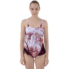 Highland Park 12 Twist Front Tankini Set
