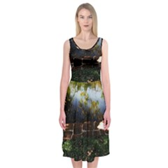 Highland Park 10 Midi Sleeveless Dress