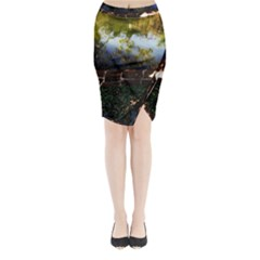 Highland Park 10 Midi Wrap Pencil Skirt