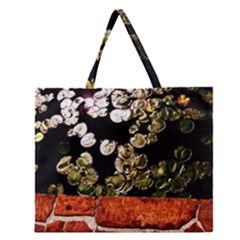 Highland Park 4 Zipper Large Tote Bag