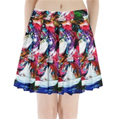 Way In A Tiland Pleated Mini Skirt