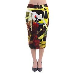 Drama 5 Midi Pencil Skirt