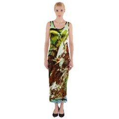 Doves Matchmaking 8 Fitted Maxi Dress