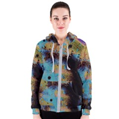 Blue Options 5 Women s Zipper Hoodie