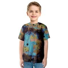 Blue Options 5 Kids  Sport Mesh Tee