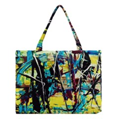 Dance Of Oil Towers 3 Medium Tote Bag