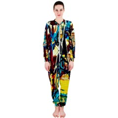 Dance Of Oil Towers 4 Onepiece Jumpsuit (ladies)