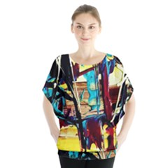 Dance Of Oil Towers 4 Blouse