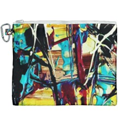Dance Of Oil Towers 4 Canvas Cosmetic Bag (xxxl)
