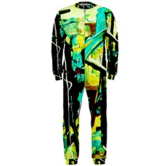 Dance Of Oil Towers 5 Onepiece Jumpsuit (men)