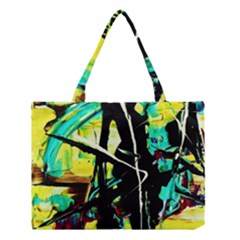 Dance Of Oil Towers 5 Medium Tote Bag