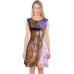 Close To Pinky,s House 12 Capsleeve Midi Dress